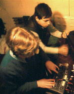 Ray & Rui at the original mixing desk
