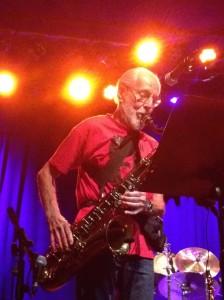 Bunk Gardner: Sax solo
