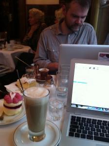 Cafe Writing - Landtmann