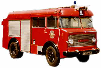George the Bedford Fire Engine