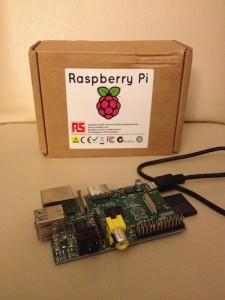 Raspberry Pi and box