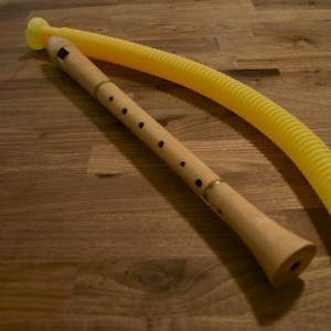 Alto Recorder and Whirlie